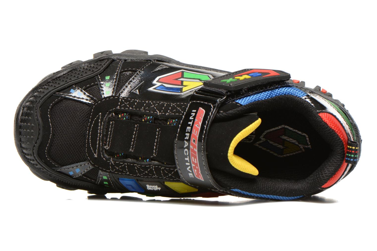 Trainers Skechers Damager II Game Kicks Black view from the left