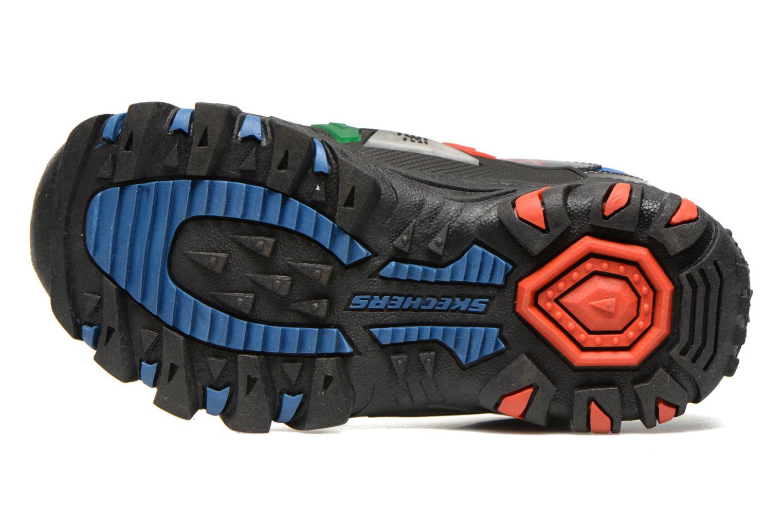 Sneaker Skechers Damager II Game Kicks schwarz ansicht von oben