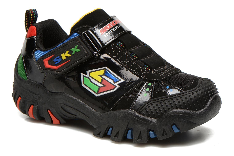 Sneaker Skechers Damager II Game Kicks schwarz detaillierte ansicht/modell
