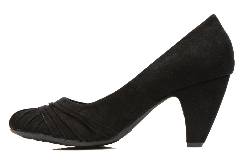High heels Rocket Dog Sparkley Black front view