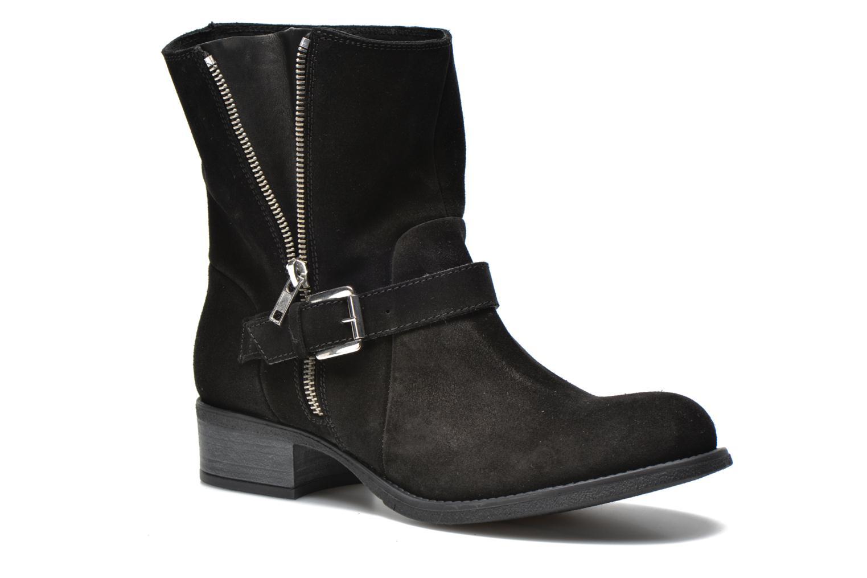 Bottines et boots Georgia Rose Anilda Noir vue 3/4