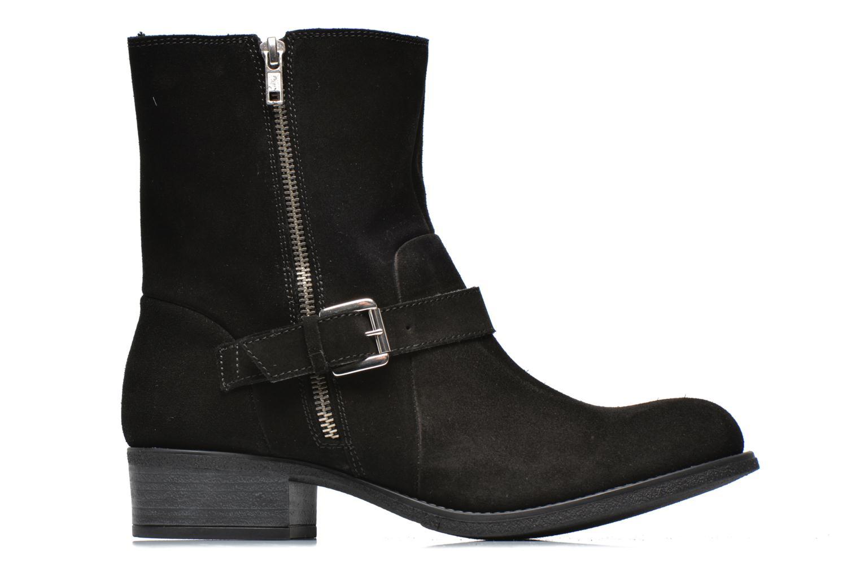 Bottines et boots Georgia Rose Anilda Noir vue derrière