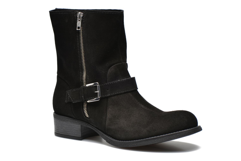 Bottines et boots Georgia Rose Anilda Noir vue détail/paire