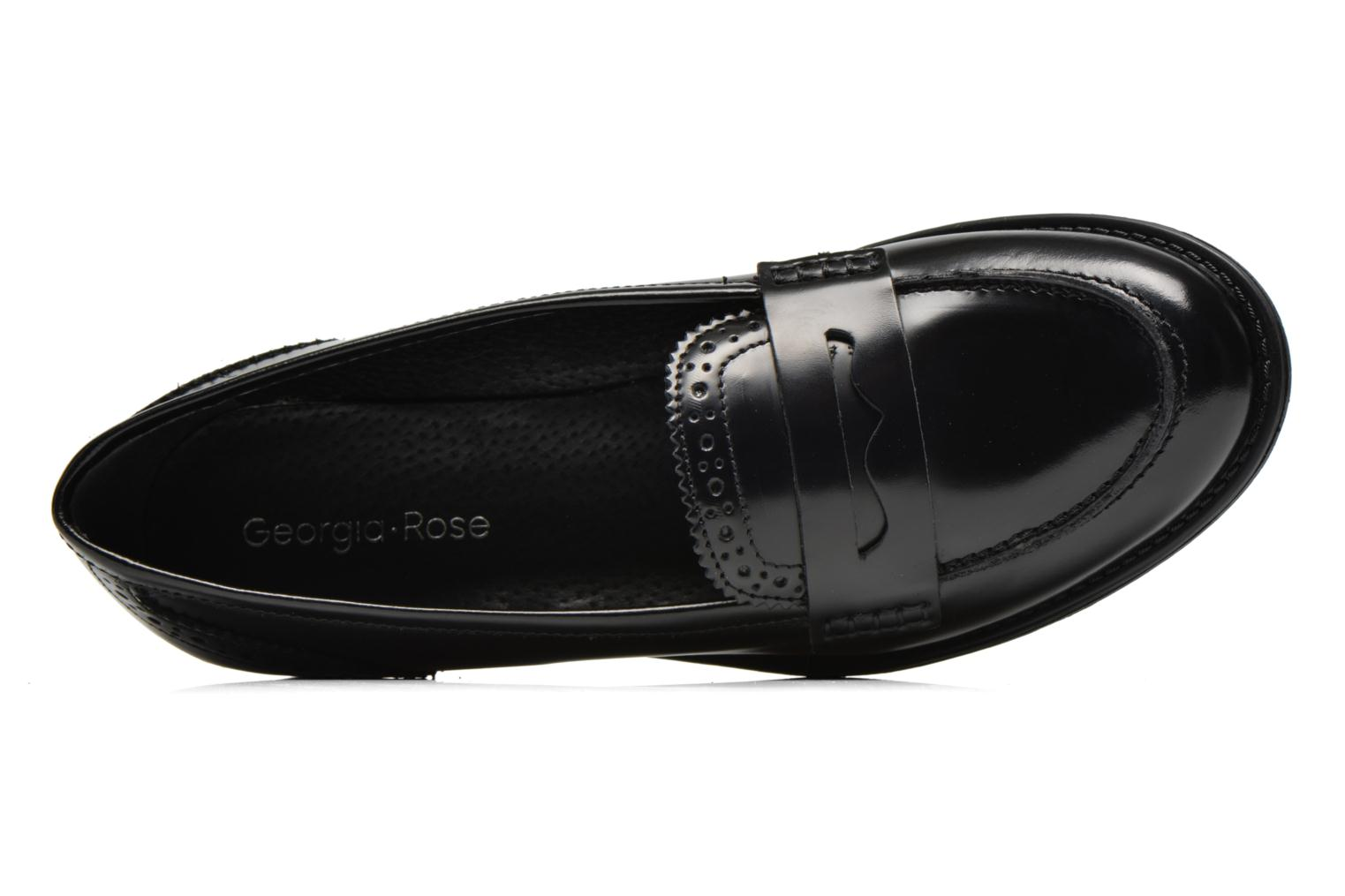 Loafers Georgia Rose Ananda Black view from the left