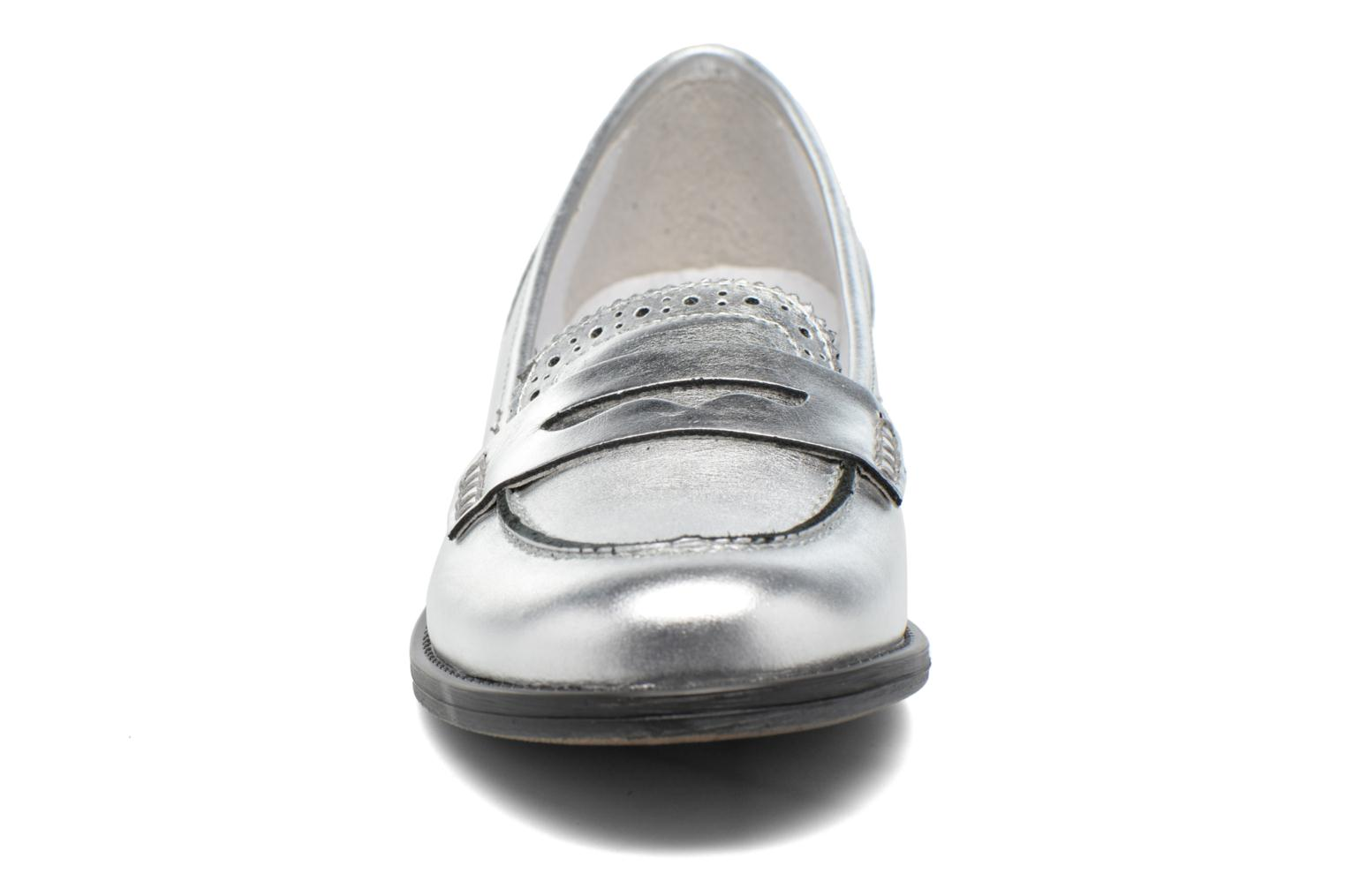 Loafers Georgia Rose Ananda Silver model view
