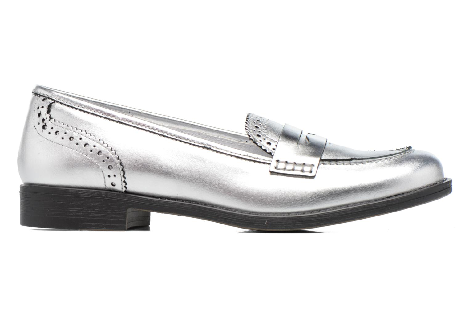 Loafers Georgia Rose Ananda Silver back view