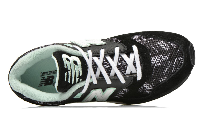 Baskets New Balance W530 Noir vue gauche