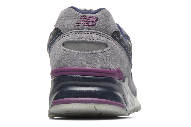 Sneaker New Balance WL999 grau ansicht von rechts
