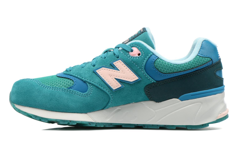 Sneaker New Balance WL999 grün ansicht von vorne