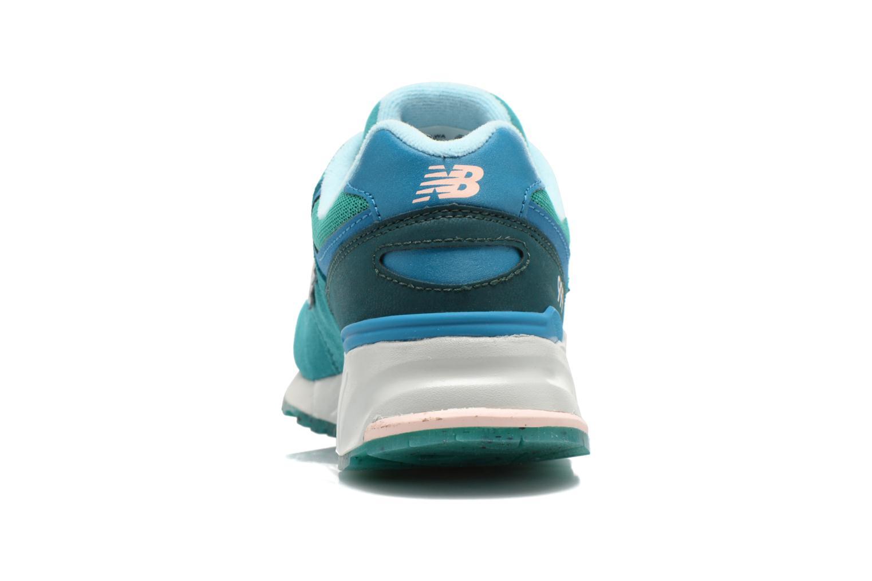Sneaker New Balance WL999 grün ansicht von rechts