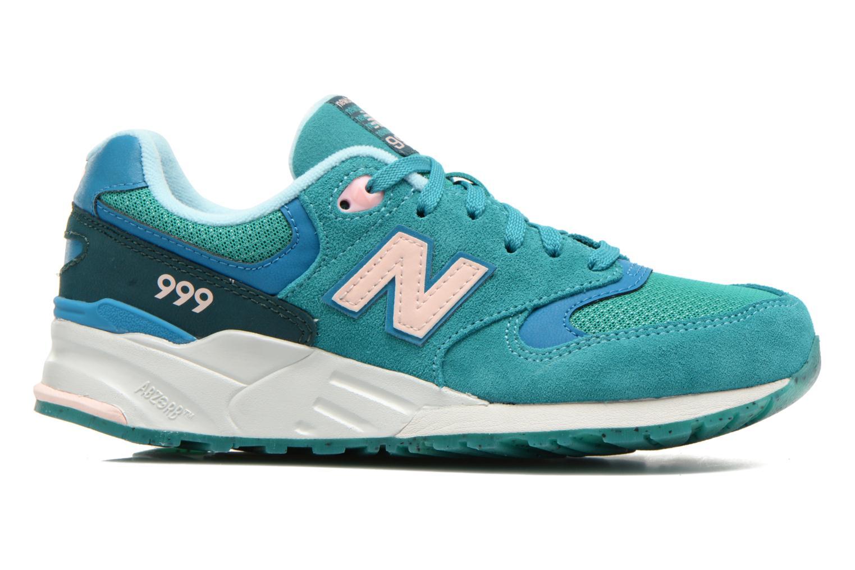 Sneaker New Balance WL999 grün ansicht von hinten