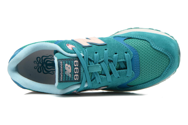 Sneaker New Balance WL999 grün ansicht von links