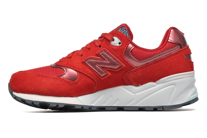 Sneaker New Balance WL999 rot ansicht von vorne