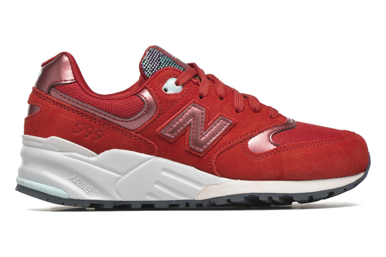 Sneaker New Balance WL999 rot ansicht von hinten