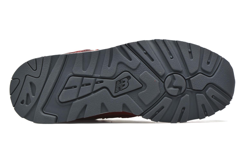 Sneaker New Balance WL999 rot ansicht von oben