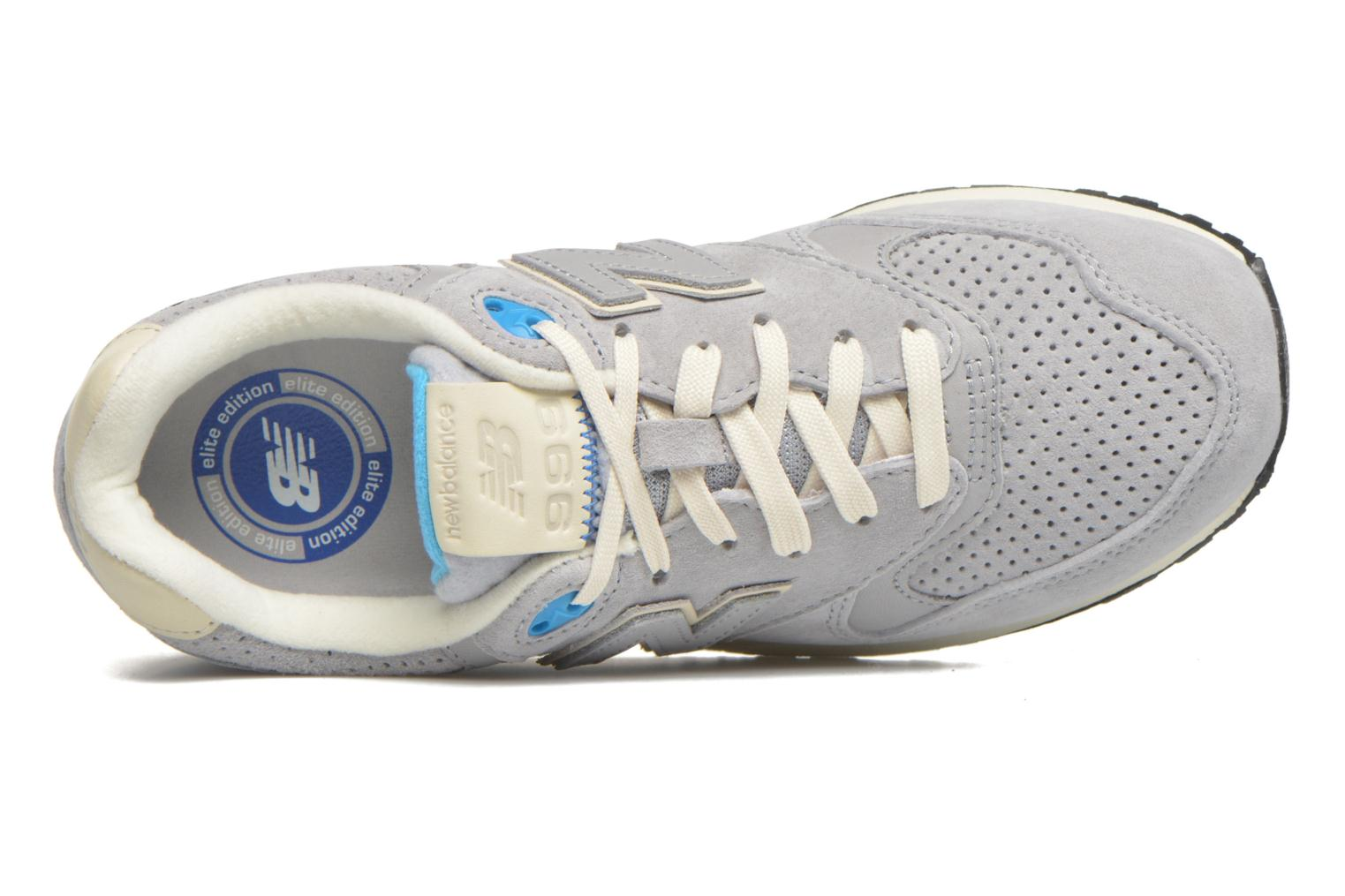 Baskets New Balance WL999 Gris vue gauche