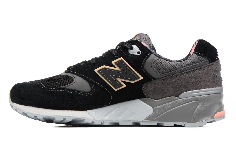 Sneaker New Balance WL999 schwarz ansicht von vorne