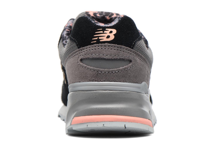 Baskets New Balance WL999 Noir vue droite