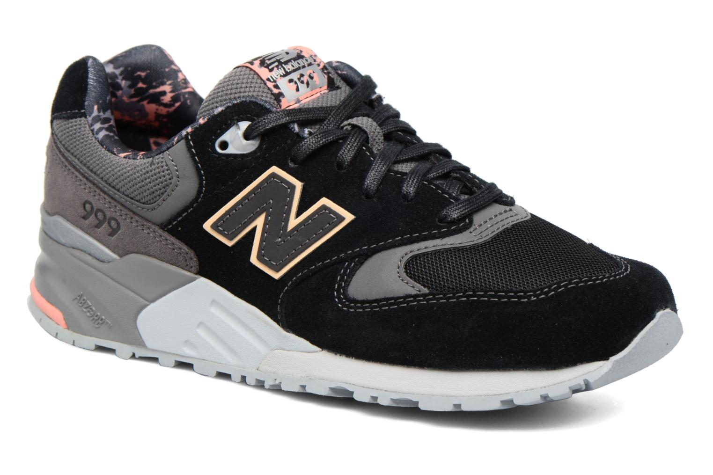 Sneakers New Balance WL999 Svart detaljerad bild på paret