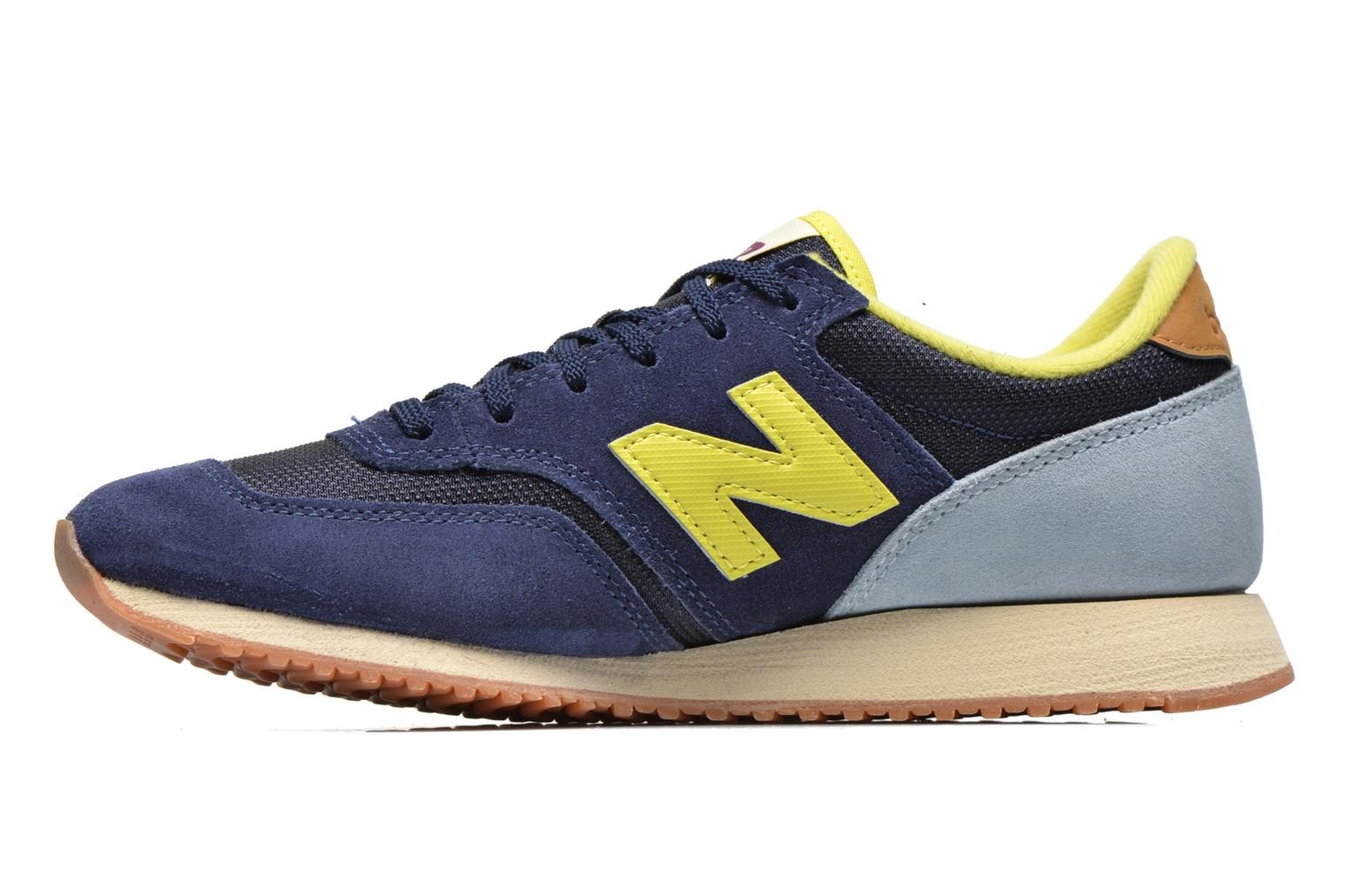 Baskets New Balance CW620 Bleu vue face
