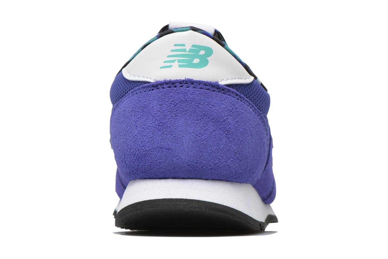 Sneaker New Balance WL420 blau ansicht von rechts