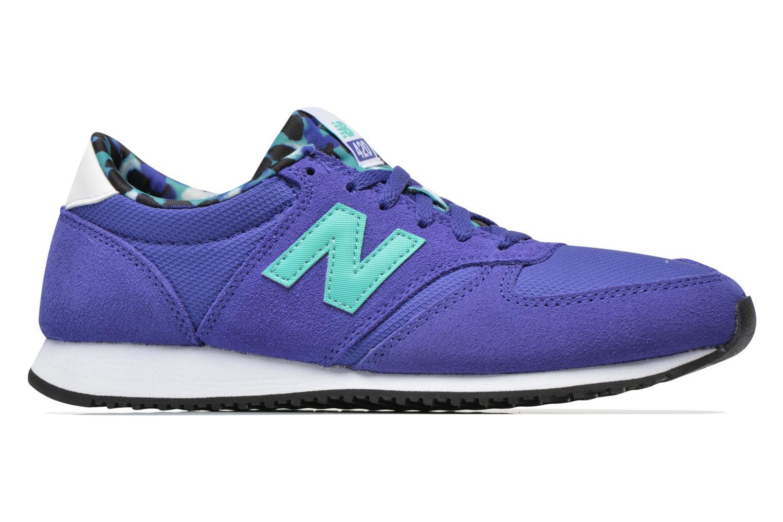 Sneaker New Balance WL420 blau ansicht von hinten