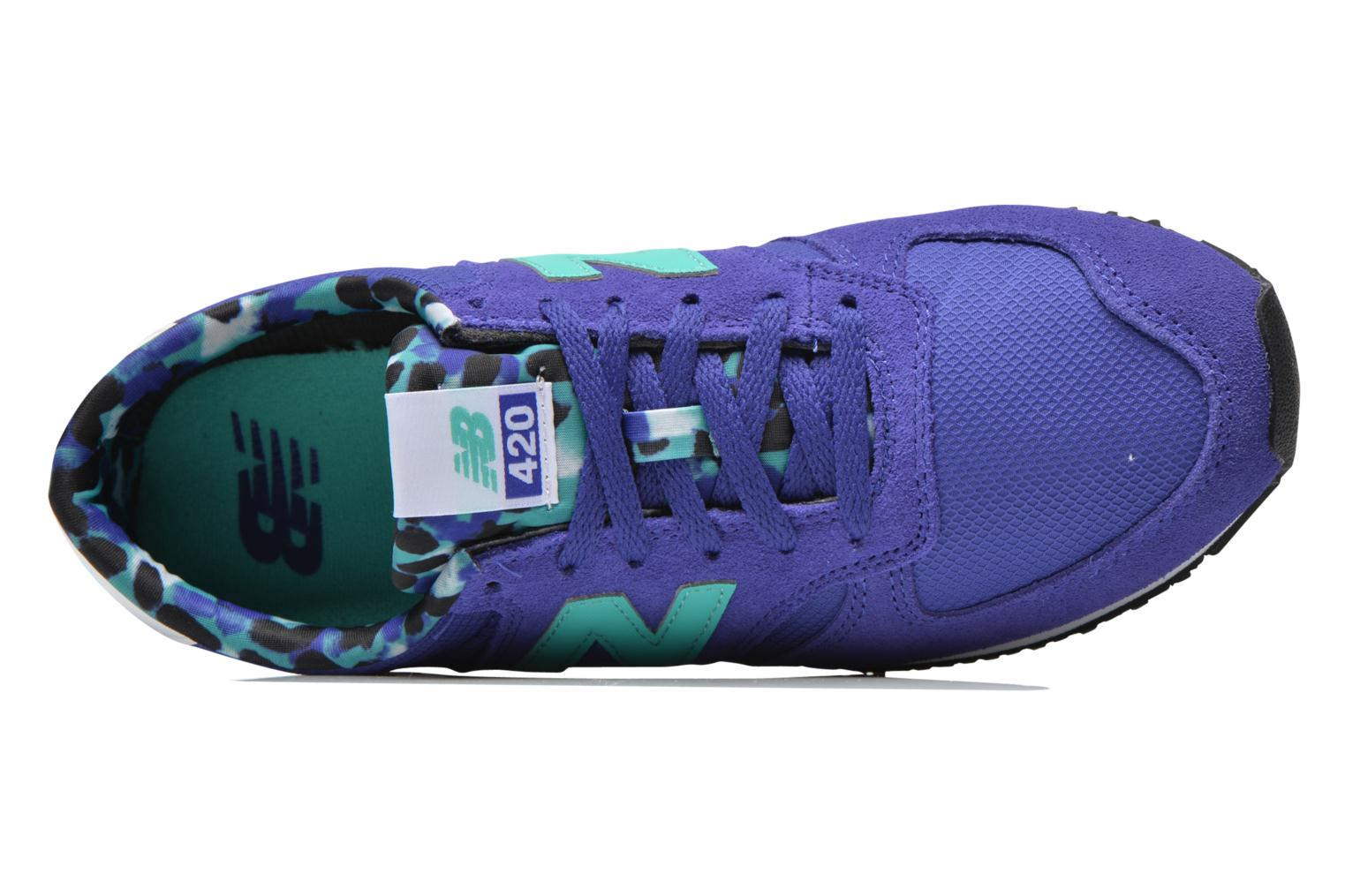 Sneakers New Balance WL420 Blauw links