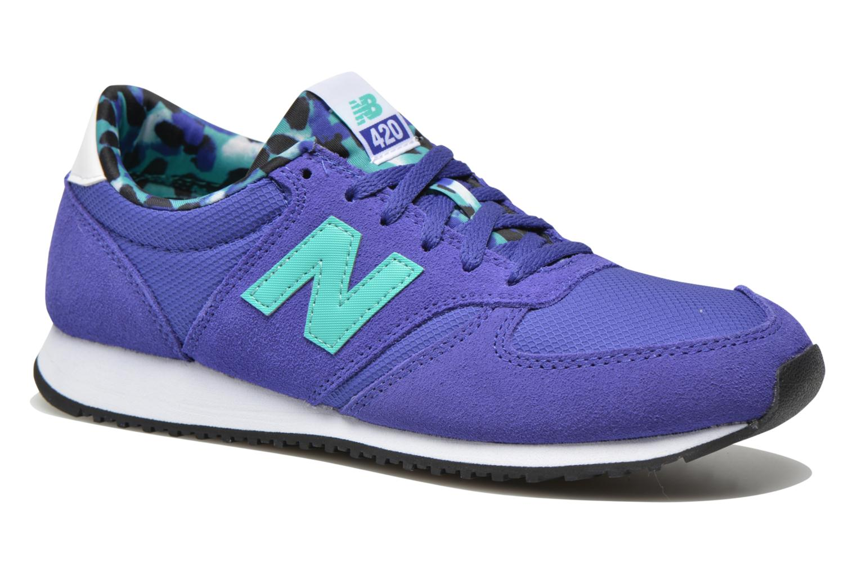 Sneaker New Balance WL420 blau detaillierte ansicht/modell