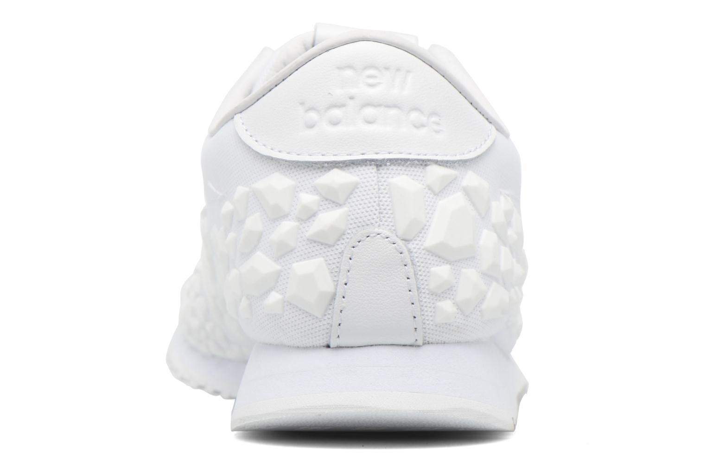 Sneaker New Balance WL420 weiß ansicht von rechts