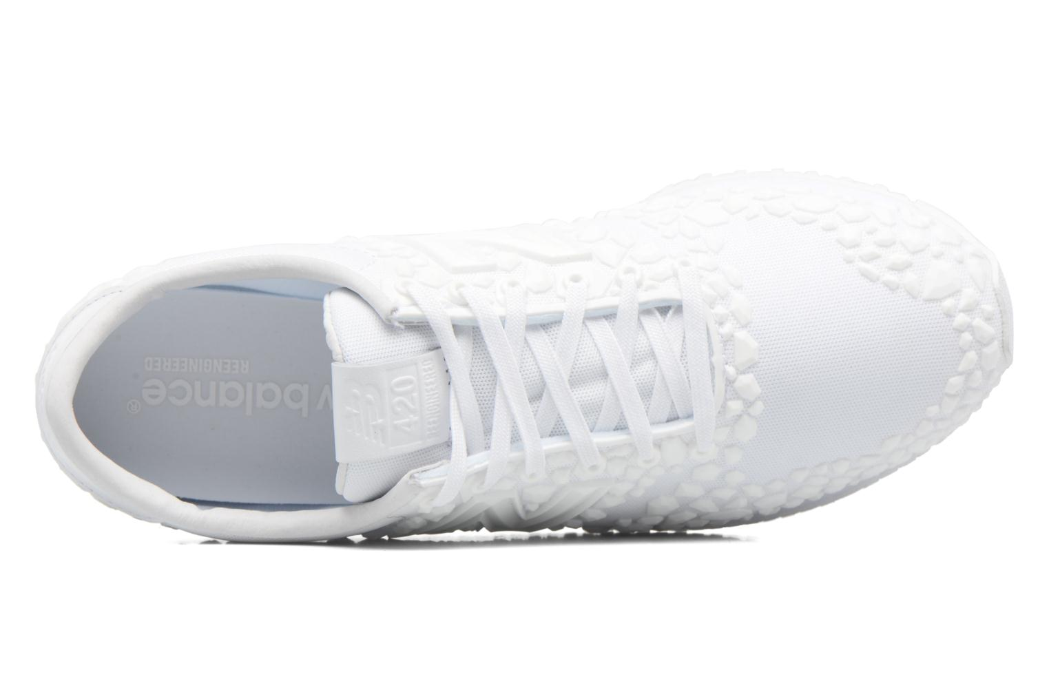 Trainers New Balance WL420 White view from the left