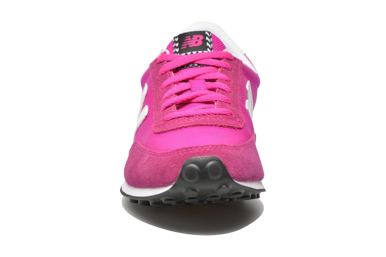 Sneaker New Balance WL410 rosa schuhe getragen