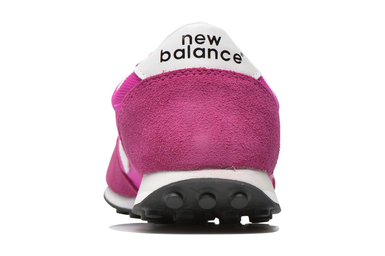 Deportivas New Balance WL410 Rosa vista lateral derecha