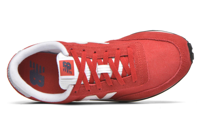 Baskets New Balance WL410 Rouge vue gauche