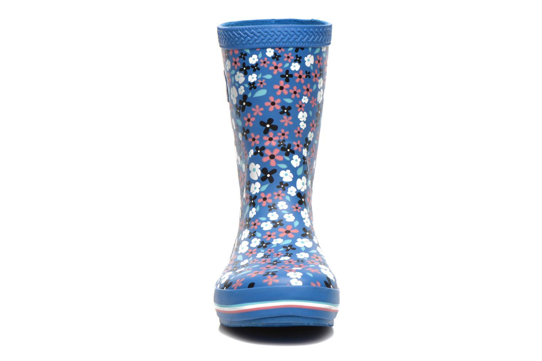 Bottes Havaianas Aqua Kids Flores Bleu vue portées chaussures