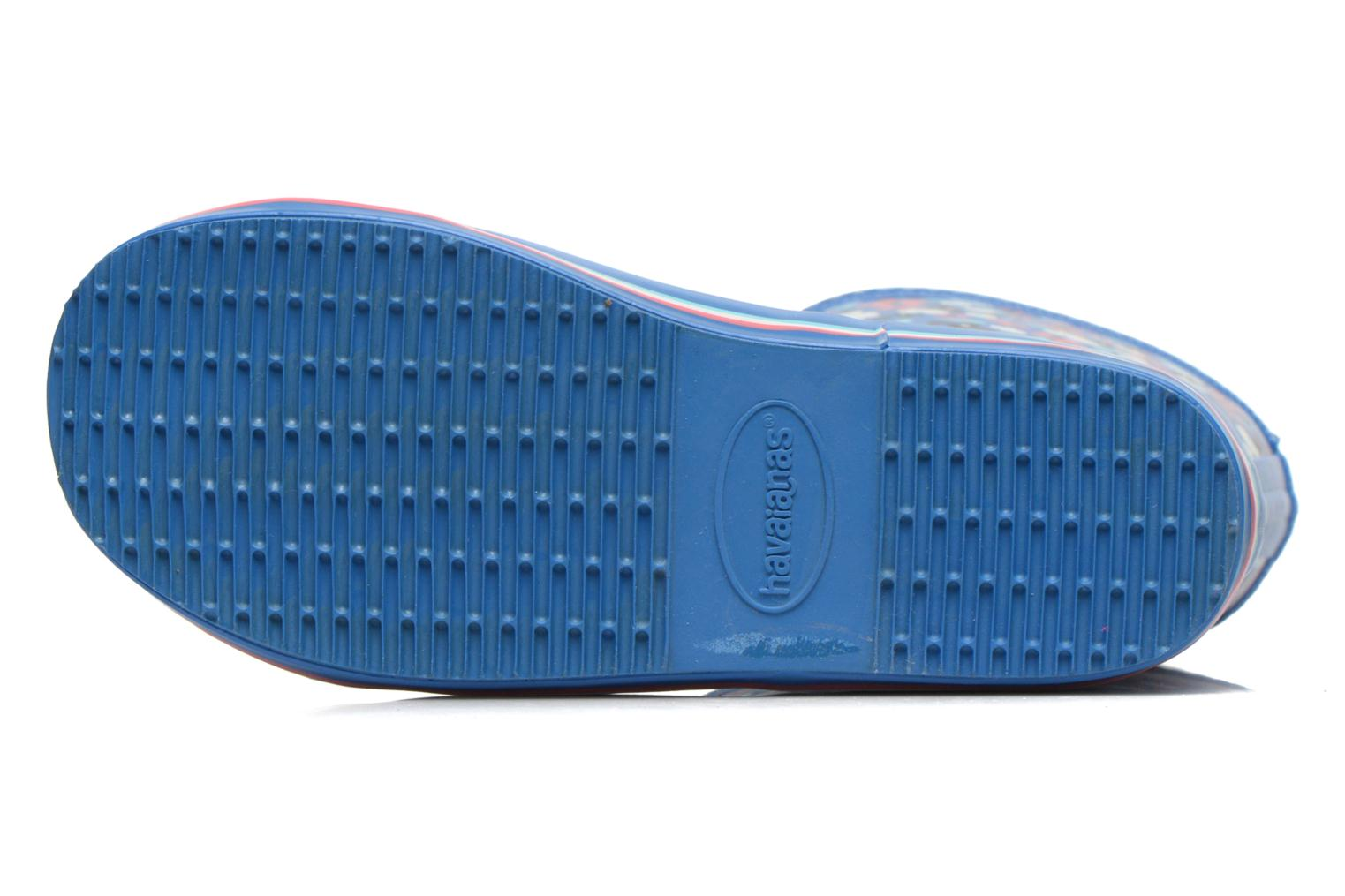 Boots & wellies Havaianas Aqua Kids Flores Blue view from above