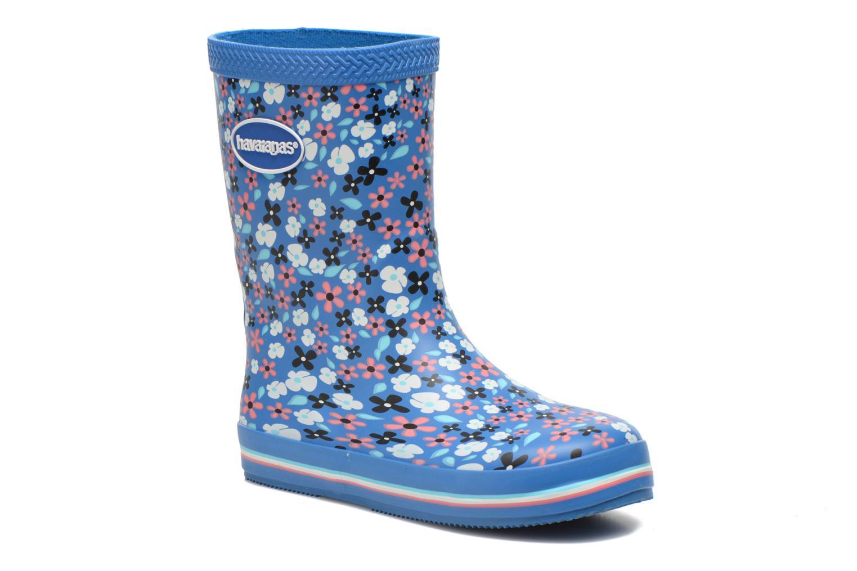Bottes Havaianas Aqua Kids Flores Bleu vue détail/paire