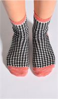 Socken HOUNDSTOOTH