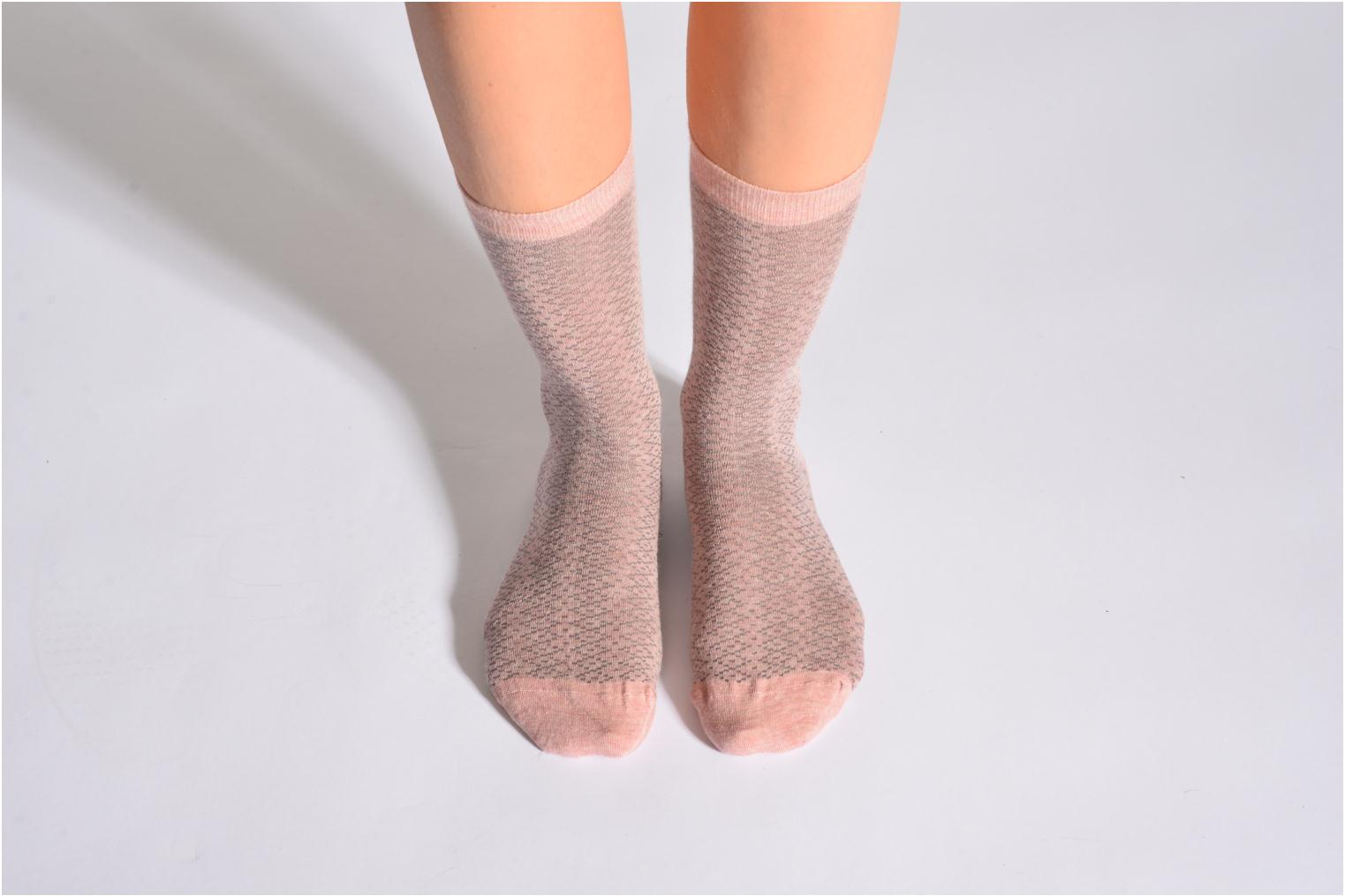 Socken CARESSE 514 - rose