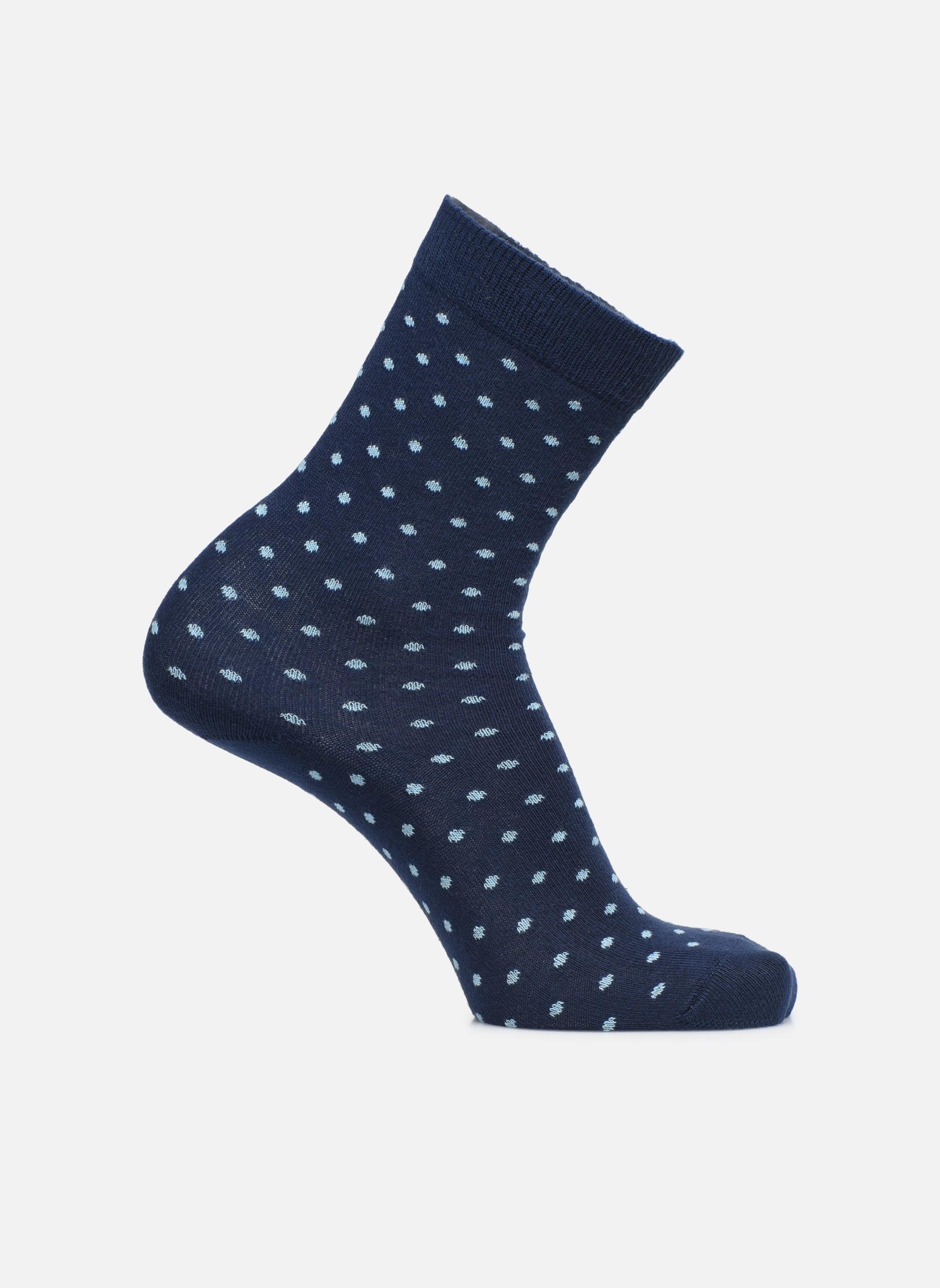 Socken DOTS 040 - bleu