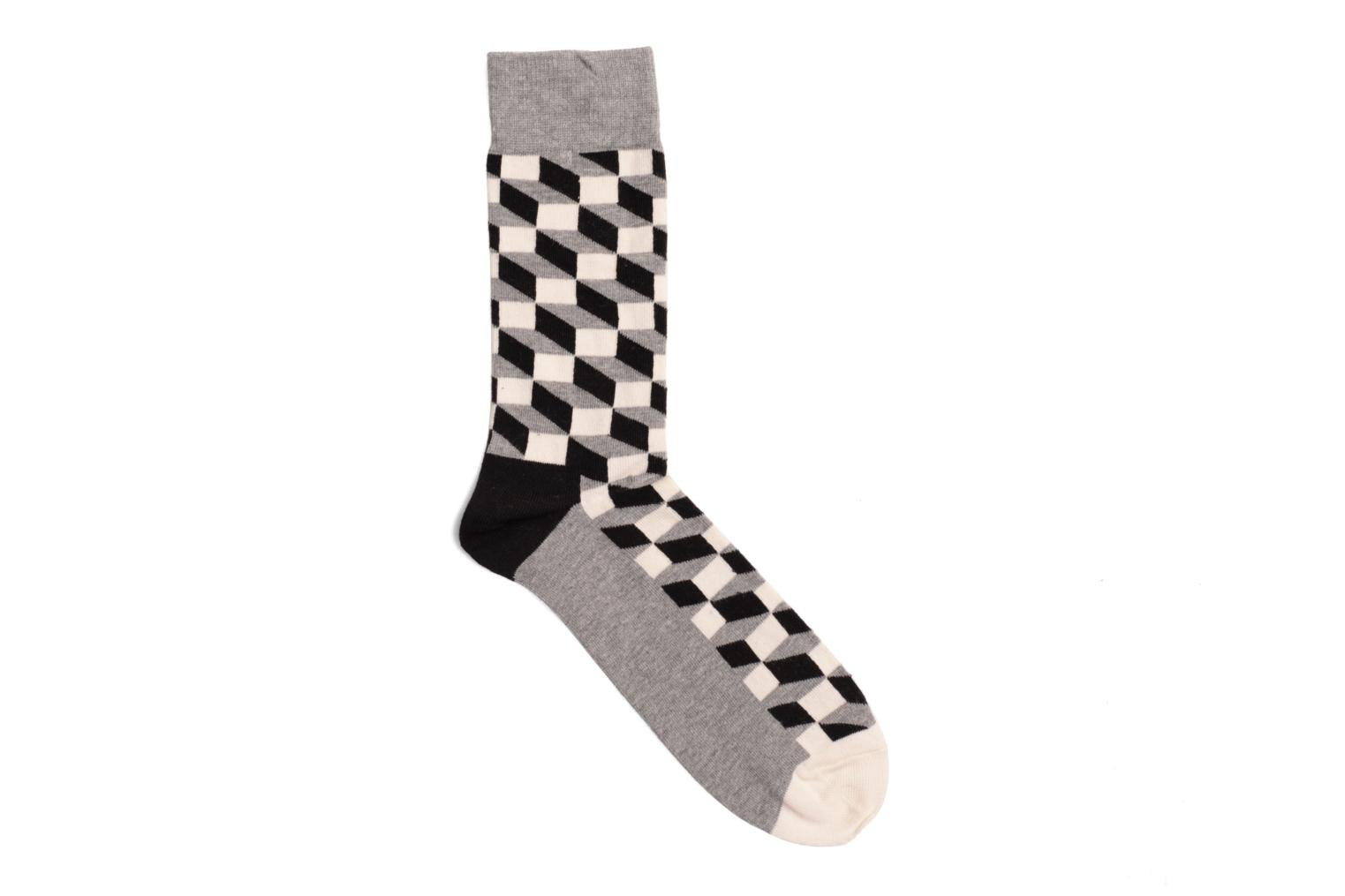 Chaussettes FILLED OPTIC FO01-901 GRIS:NOIR