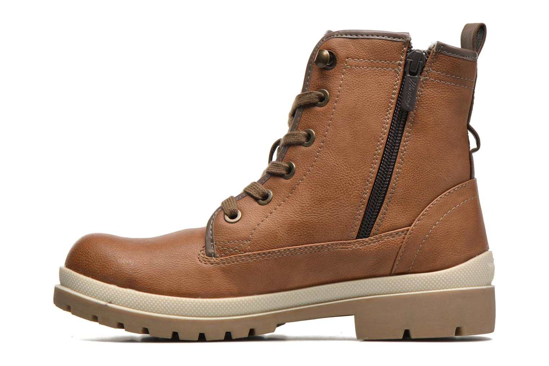 Bottines et boots Mustang shoes Lumia Marron vue face