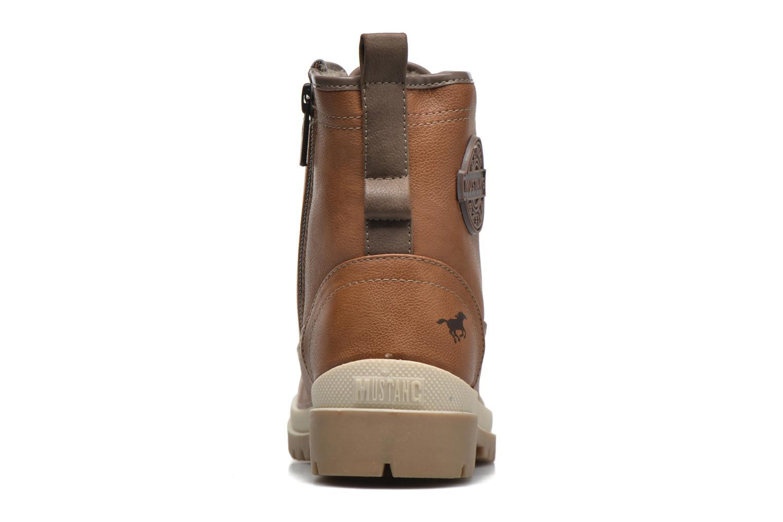 Bottines et boots Mustang shoes Lumia Marron vue droite
