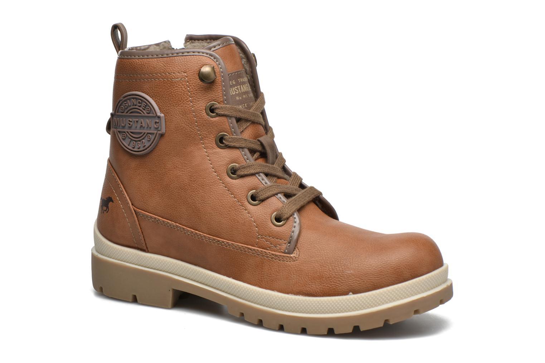 Bottines et boots Mustang shoes Lumia Marron vue détail/paire