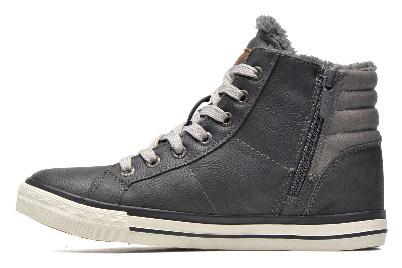 Baskets Mustang shoes Dana Gris vue face