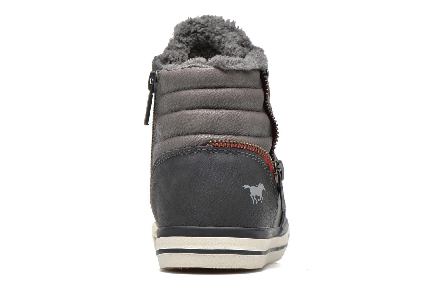 Trainers Mustang shoes Dana Grey view from the right