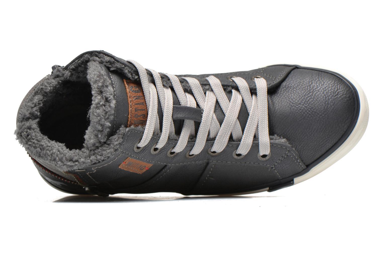Sneakers Mustang shoes Dana Grijs links