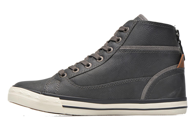 Baskets Mustang shoes Claudio Gris vue face
