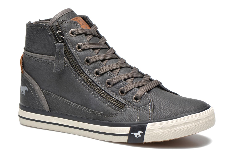 Baskets Mustang shoes Claudio Gris vue détail/paire