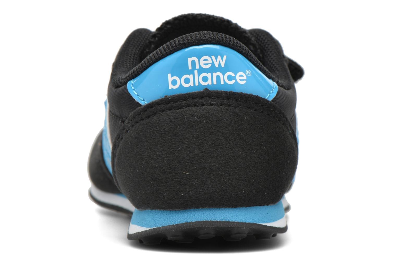 Sneakers New Balance KE410 I Sort Se fra højre
