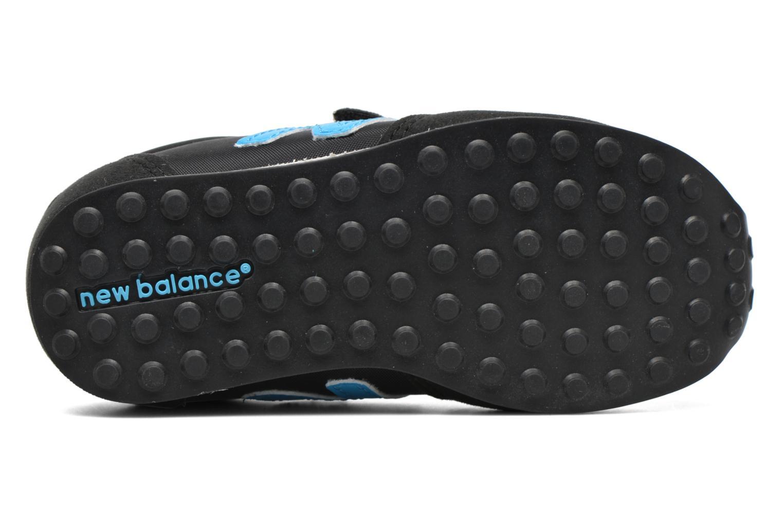 Baskets New Balance KE410 I Noir vue haut